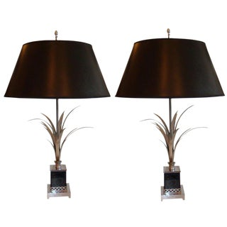 Vintage Signed Maison Charles Table Lamps - a Pair For Sale