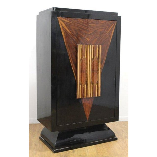 Art Deco Revolving Bar Cabinet - Image 2 of 5