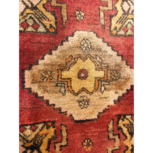 """Small Welcome Mat Size Vintage Turkish Anatolian Rug - 1'10""""x2'8"""" - Image 3 of 6"""