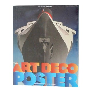 The Art Deco Poster by William W. Crouse Book For Sale