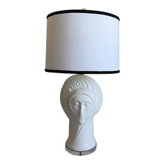 Mid-Century Italian Heads Lamp For Sale