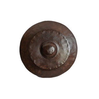Vintage Balinese Bronze Gong For Sale