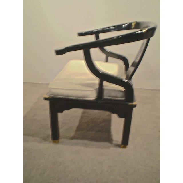 Chinese Lacquered Chippendale Chairs - A Pair - Image 3 of 6
