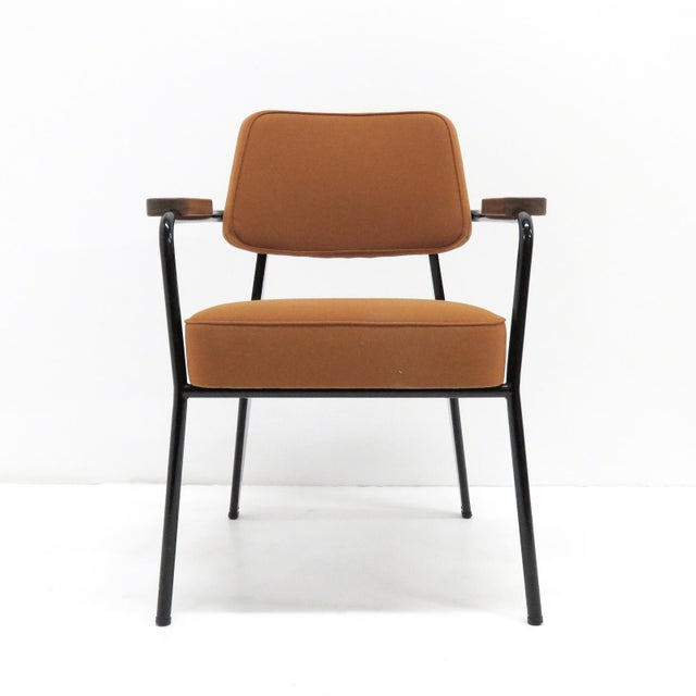 Wood Vitra Fauteuil Direction by Jean Prouvé Armchair For Sale - Image 7 of 11