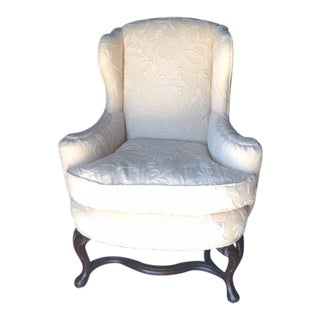 Early 19th Century Vintage George III English Wingback Chair For Sale