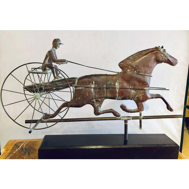 Metal St. Julien Weather Vane Attributed to j.w. Fiske 19th Century Full Bodied Metal For Sale - Image 7 of 12