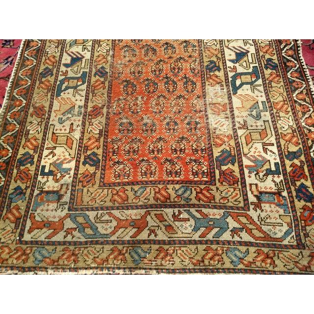 Late 19th Century 19th Century Kazak Rug 3′1″ × 5′6″ For Sale - Image 5 of 13