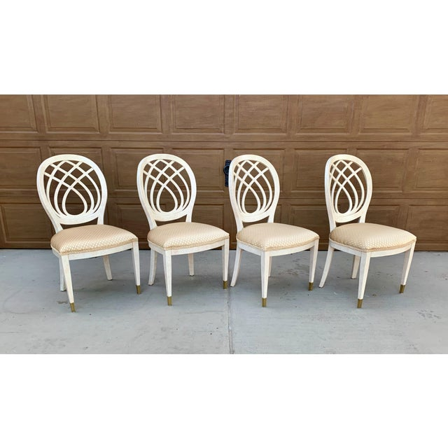 Traditional 1990's Henredon Side Chairs - Set of 2 For Sale - Image 3 of 13