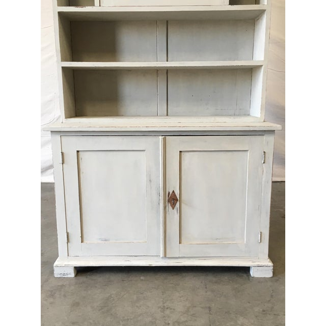 Swedish Antique Wall Bookcase Cabinet For Sale - Image 4 of 8