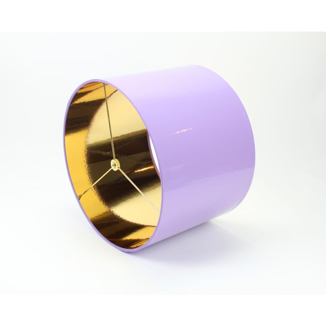 Made To Order: 1-2 week lead time Individually hand-made Exterior Color: Lavender Interior Color: white Size: Diameter:...