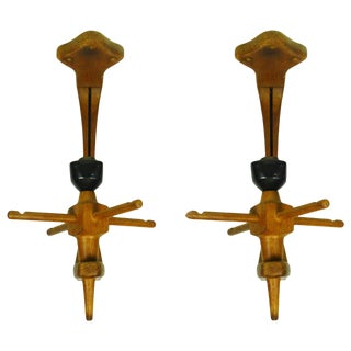 Vintage Guillerme et Chambron Sconces. A pair For Sale