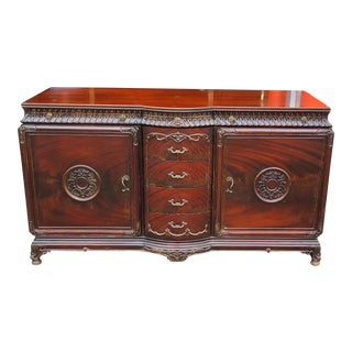 Very Fine & Decorative 1950s Mahogany Chinese Chippendale Bedroom Dresser For Sale