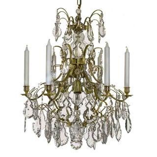 Vintage used baroque chandeliers chairish baroque chandelier 6 polished brass pendants aloadofball Images