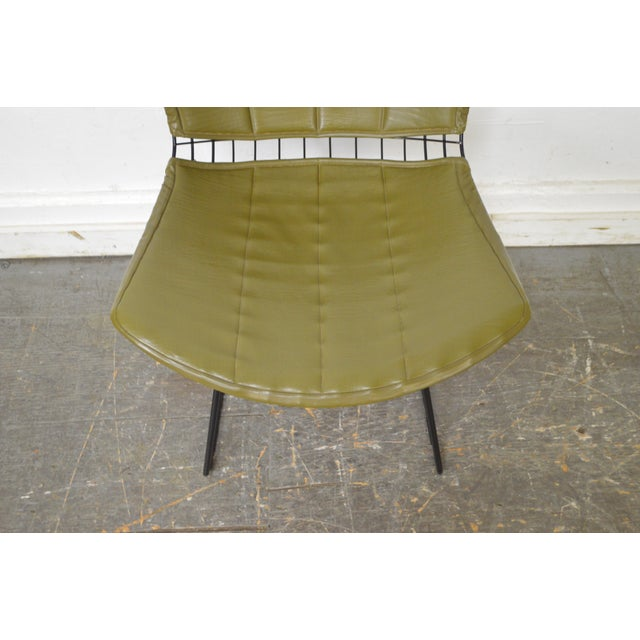 Metal Bertoia for Knoll Mid Century Wire Side Dining Chairs - Set of 12 For Sale - Image 7 of 10