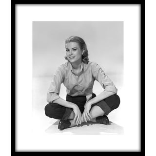 "1954 Grace Kelly Publicity Photo for ""Rear Window"" Framed Print"