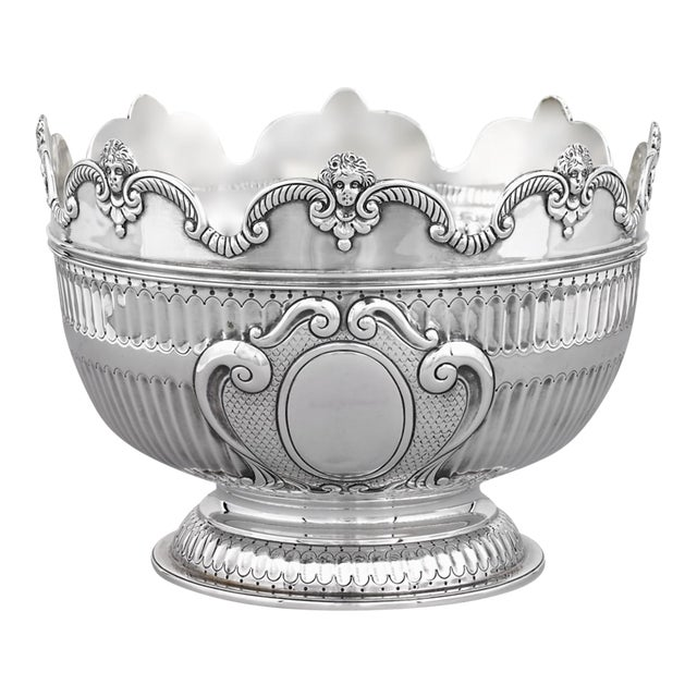 Silver Cherub Bowl By The London Assay Office - Image 1 of 5
