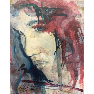 Abstract Portrait of a Lady, 1990s For Sale