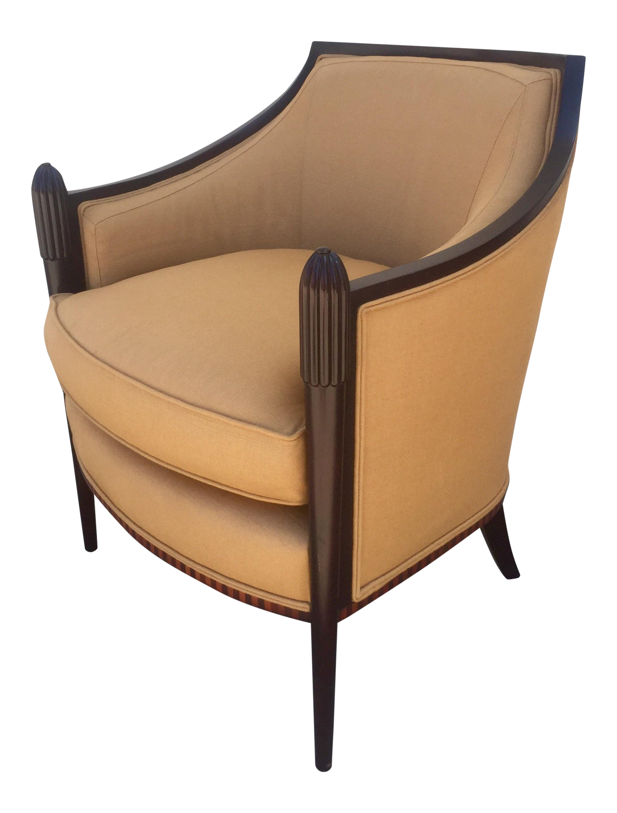 Barbara Barry Deco Classic Lounge Chair