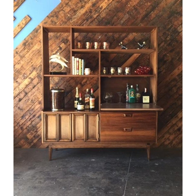 Mid Century Wall Unit Room Divider - Image 7 of 7
