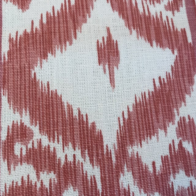 Cowtan & Tout Rapallo Coral Fabric For Sale - Image 4 of 9