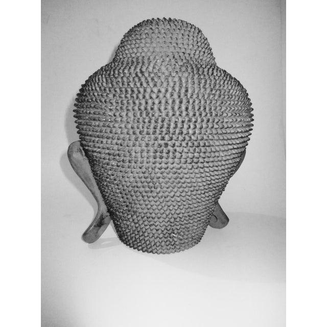 Resin Buddha Head Figure - Image 4 of 5