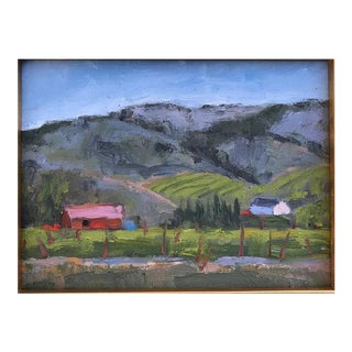 Sonoma Barns Oil Painting For Sale