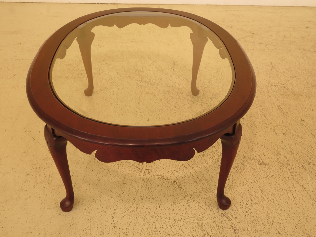 Cherry Queen Anne Coffee Table   Image 4 Of 10