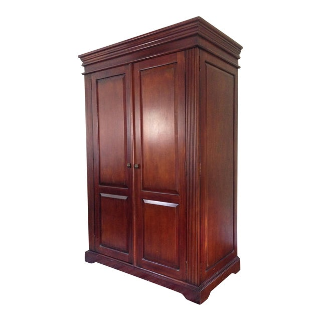 Classic Wood Armoire/Wardrobe - Image 1 of 10