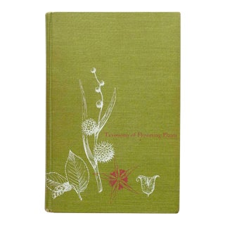 1967 Vintage Taxonomy of Flowering Plants Book For Sale