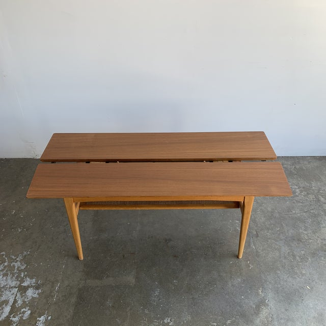 1960s Covertible Coffee Table For Sale - Image 5 of 13