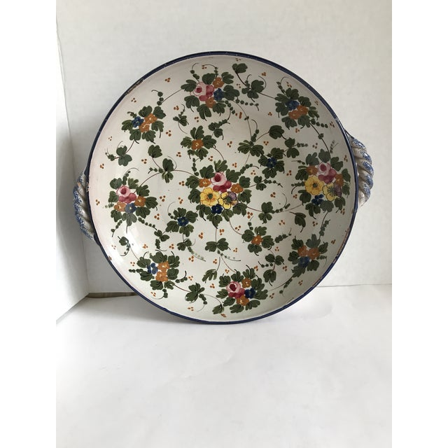 Vintage Rustic Tuscan Pottery Bowl For Sale - Image 12 of 12