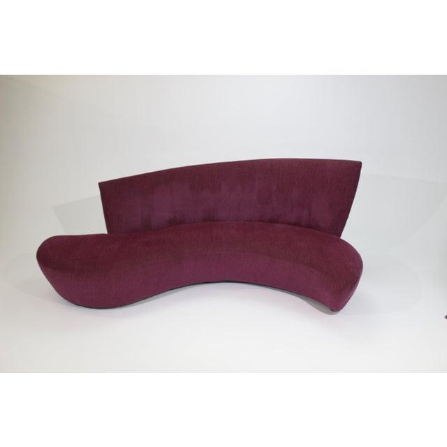 "1980s Vintage Vladimir Kagan for Preview ""Bilbao Sofa"" For Sale - Image 9 of 9"