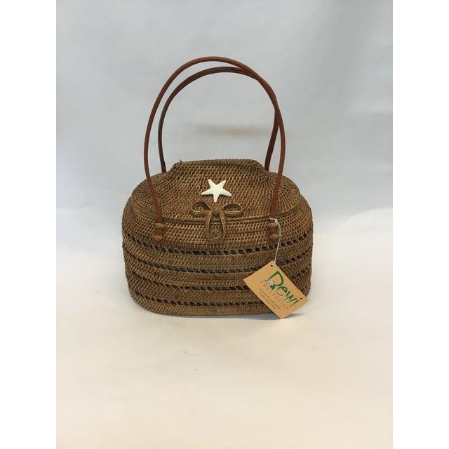 Carved Exotic Balinese Handbag - Image 2 of 6