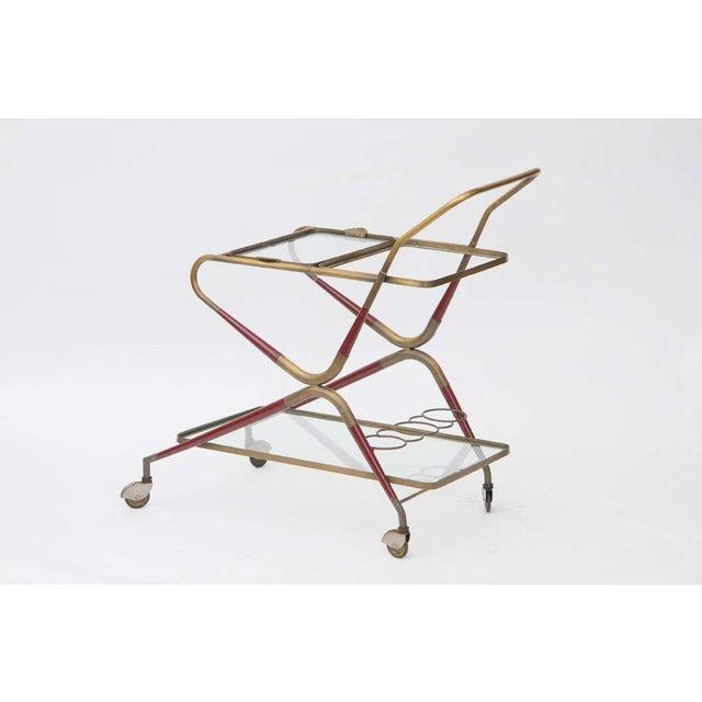 Cesare Lacca Cesare Lacca Italian Bar Cart For Sale - Image 4 of 10