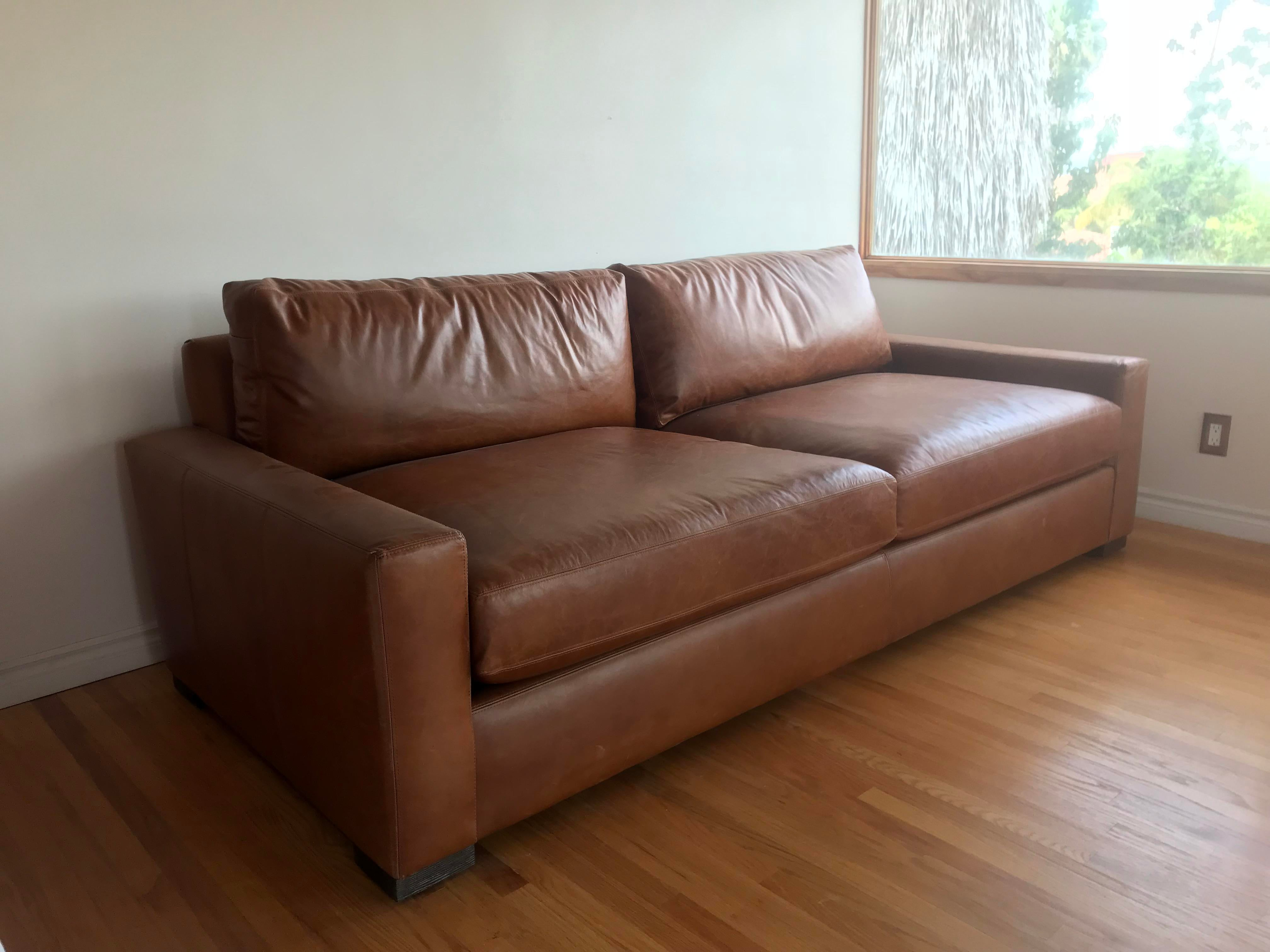 This Is A Brand New Restoration Hardware Sofa Currently Retailing Online  For $5,295 W/ Italian