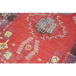 Vintage Hand Knotted Khotan Circa 1900 - 4′9″ × 9′ Preview