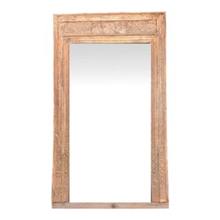 19th Century Architectural Frame Mirror For Sale