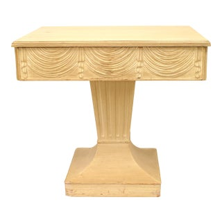 Art Moderne Bleached End Tables For Sale