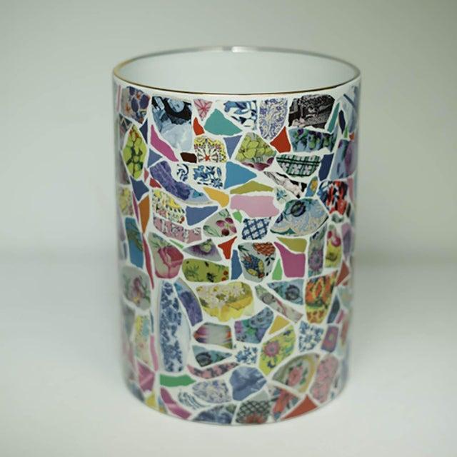 Christian Lacroix Christian Lacroix Picassiette Vase For Sale - Image 4 of 5