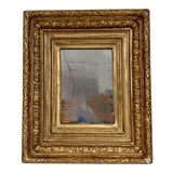 Image of 19th Century Carved Louis XIV Style French Water Gilt Mirror For Sale