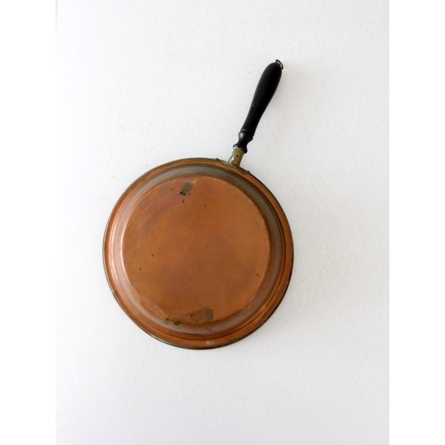 Late 19th Century Antique Copper Pan For Sale - Image 5 of 8