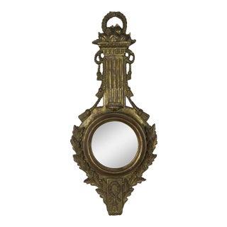 Gilt Wood Italian Mirror by Palladio C. 1940 For Sale