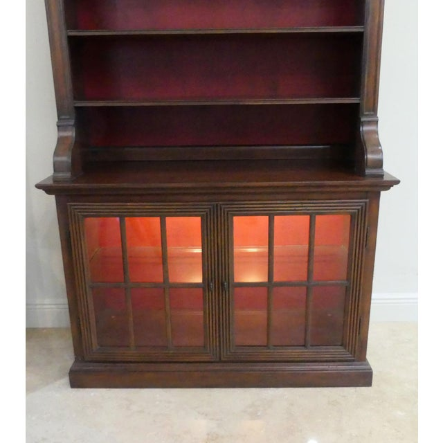 Hekman Display Cabinet Bookcase Hutch For Sale In Miami - Image 6 of 13