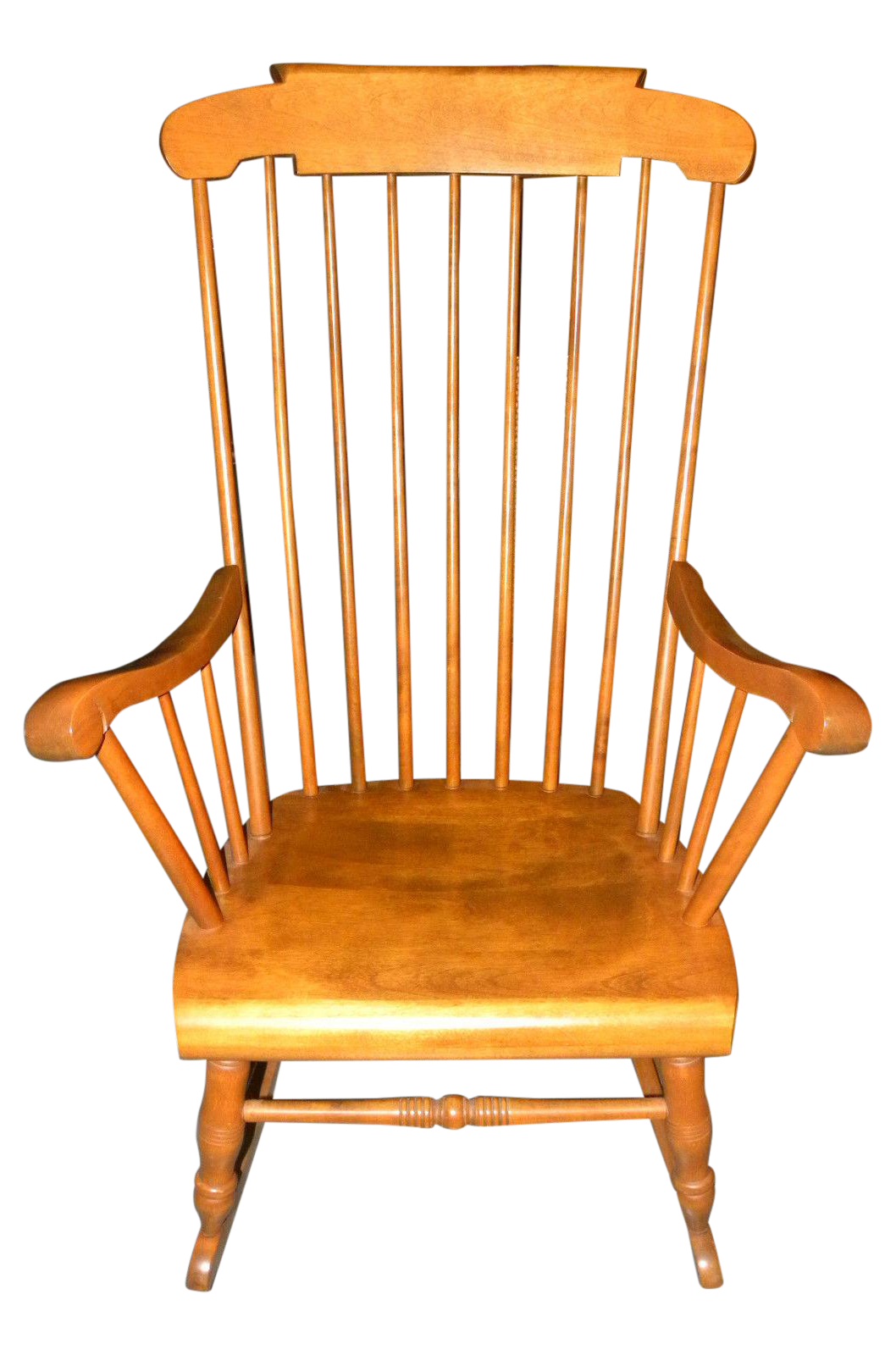 Bent Brothers Antique Maple Rocker