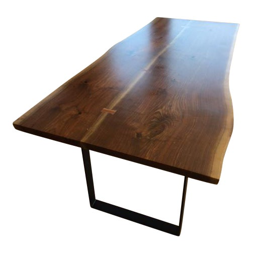 Room & Board Slab Dining Table - Image 1 of 5