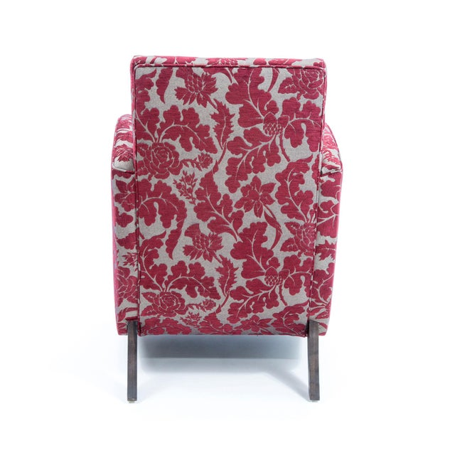 British Airways First Class Club Chair in Red Vine - Image 5 of 10