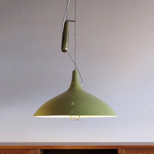 Paavo Tynell Counter Weight Chandelier For Sale - Image 9 of 10