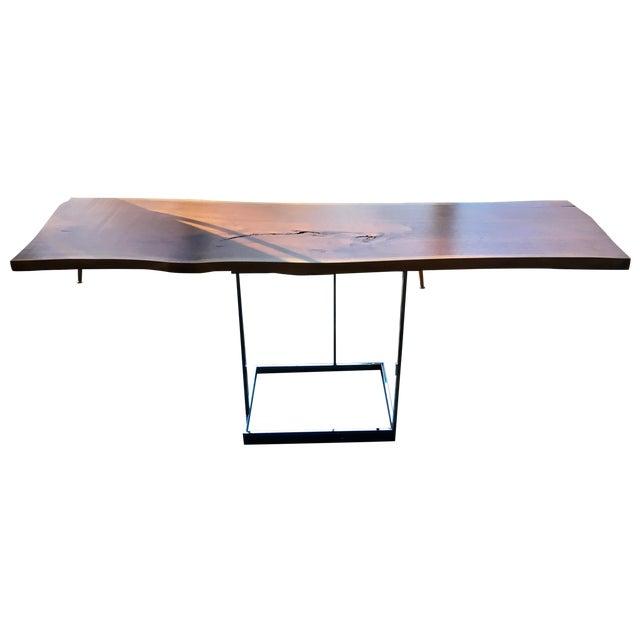 Live Edge Walnut Table Desk - Image 1 of 10