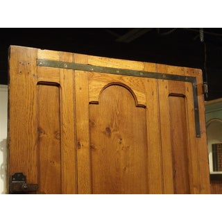 Early 1900s French Louis XIV Style Oak Entry Door Preview