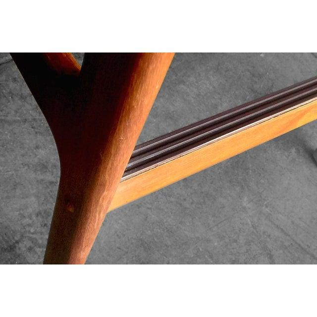 Benny Linden Mid-Century Teak Barstools- A Pair - Image 7 of 8